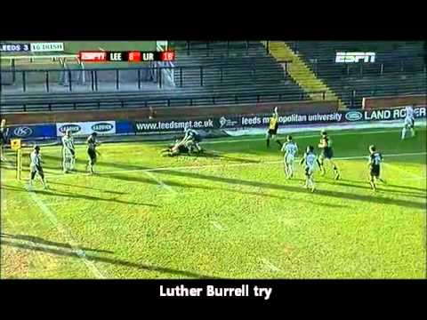 Aviva Premiership Highlights 2011 - Leeds Carnegie vs London Irish - Aviva Premiership Rugby 2010/11