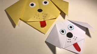 How to Make a Funny Dog Face of Paper