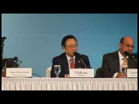 G20 Finance Ministers' Meeting in Busan_Il SaKong