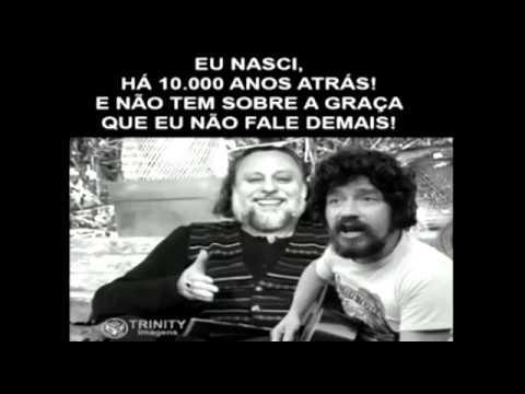 Caio Fábio e Raul Seixas: Eu nasci há dez mil anos atrás! Rs! Tudo registrado no caiofabio.net