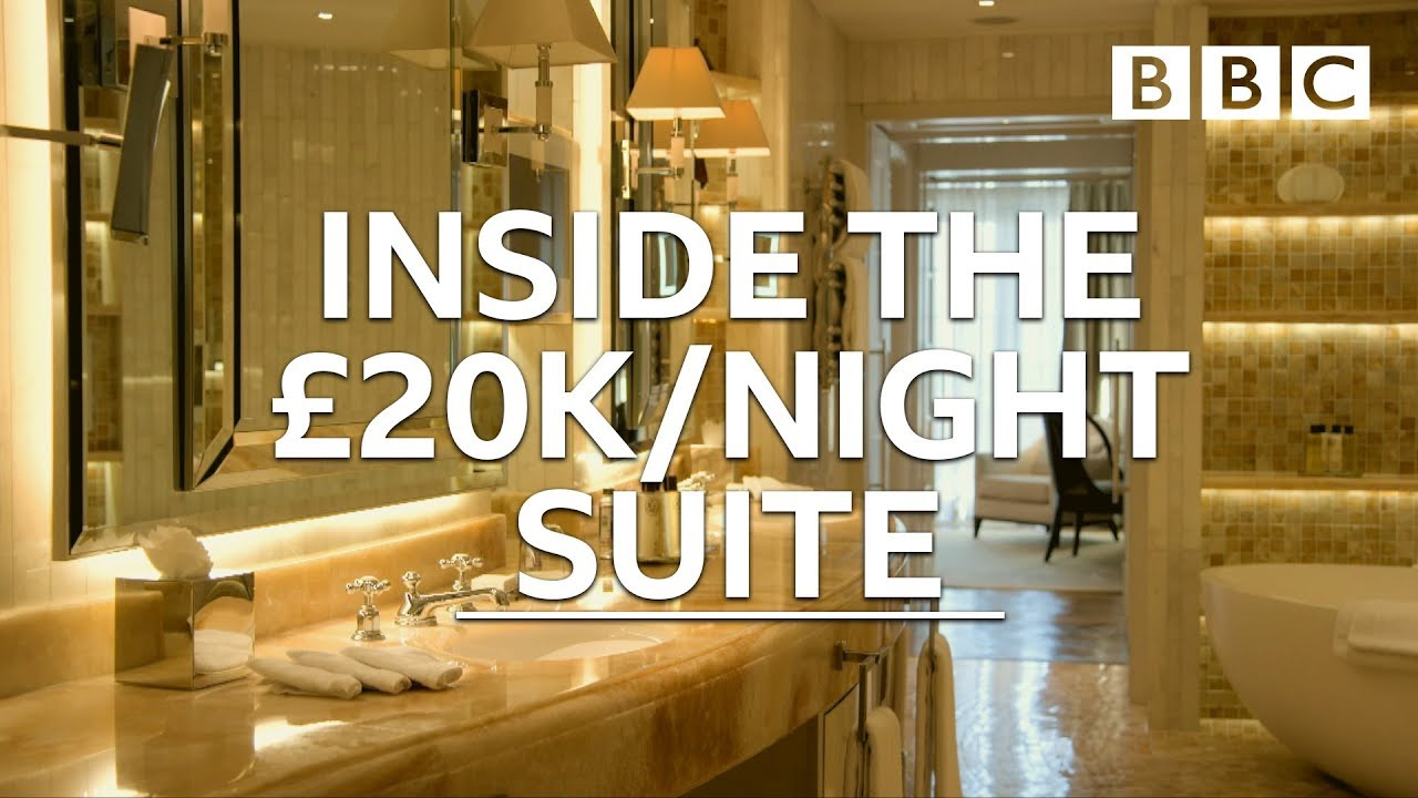 Why this London hotel costs £20,000 a night to stay in - BBC