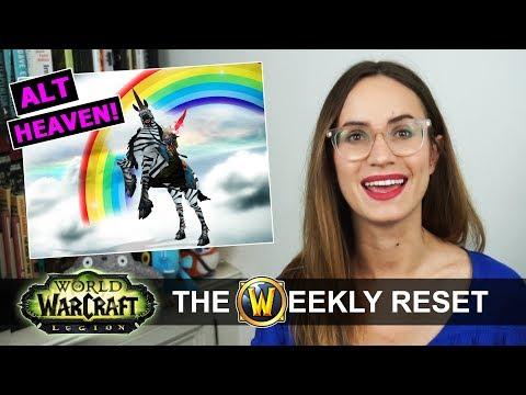 Alt Heaven In 7.3 & Evitel Talks Boobs! The Weekly Reset: World Of Warcraft Legion News