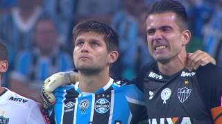 Homenagem à Chapecoense e Jornalistas - Couto Pereira, Arena do Grêmio - 07.12.16