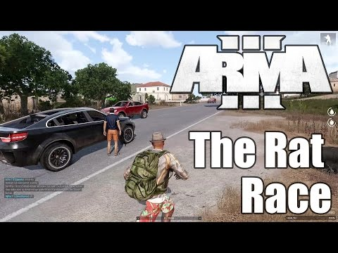 ARMA 3 Altis Life — The Rat Race — Part 3 — The Police Are Looking For Me!