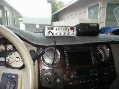 How to install a CB Radio on a 2008 F350