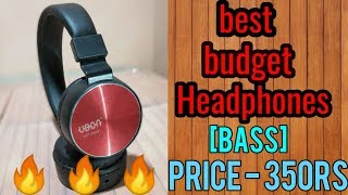 best headphones for 350 rs || ubon headphone unboxing and review