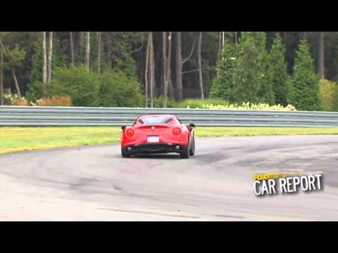 2015 Alfa Romeo 4C Test Drive