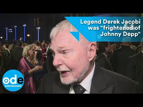 Legend Derek Jacobi was