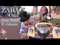 Zara Cute Playing Outside Riding Car | Baby Jogging - Run Kenzo Run | Power Wheels Review mp3 indir