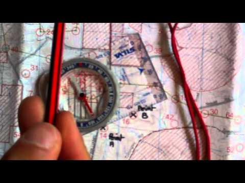 Orientation Boussole Carte Une Boussole et Une Carte