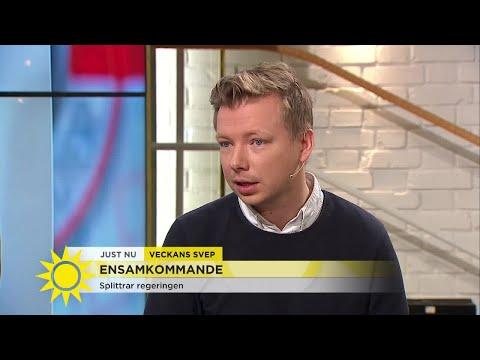 """""""Så stor splittring att MP kan lämna regeringen"""" - Nyhetsmorgon (TV4)"""