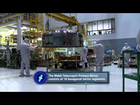 Video Snap Shot: James Webb Space Telescope Second to Last Mirror Delivery