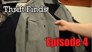 Thrift Store Haul - 4.1 - London Fog Trench Coat, Blazers, and Hunting Coats