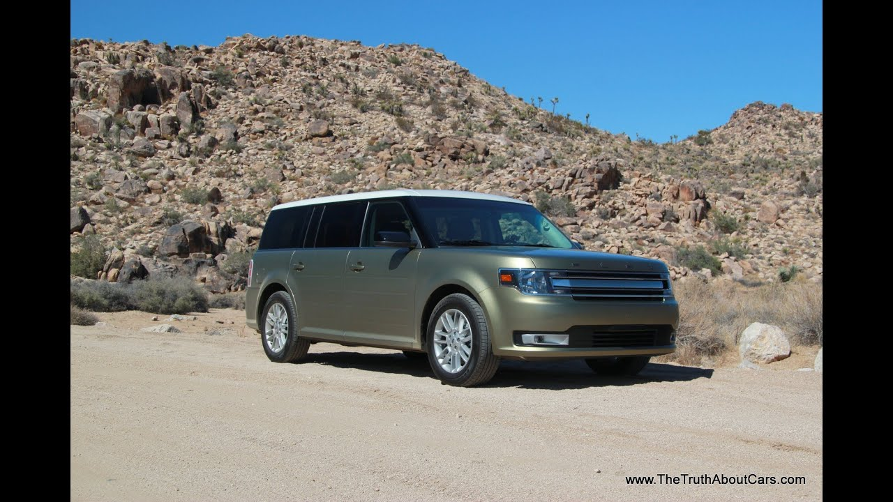 2013 2014 Ford Flex Drive Review Sel Awd Youtube