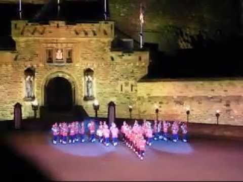 Indian Army band at 2008 Edinburgh Tattoo