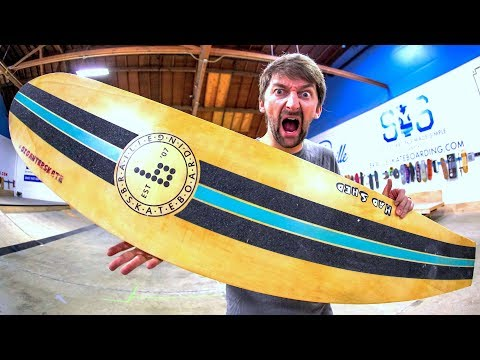 WHAT IS THE GIGANTER BOARD?! | YOU MAKE IT WE SKATE IT EP. 244