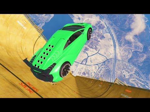 GTA 5 High Speed Jumps Compilation (GTA V Mods Gameplay Moments)