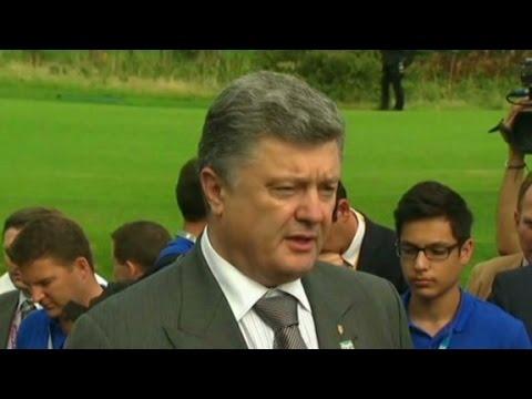 Poroshenko: Roadmap to peace