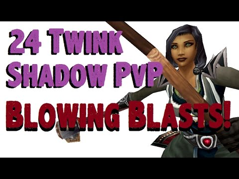Heavenia - Level 24 Shadow Priest Twink Pvp - Mop Patch 5.4.8 video