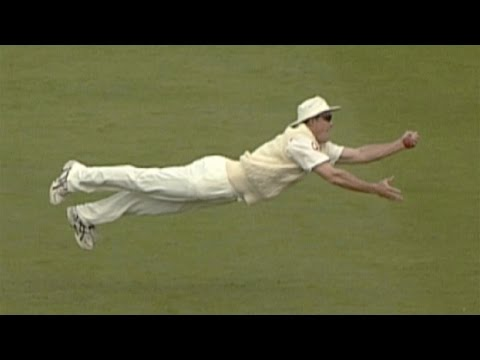 Five great catches from the 2005 Ashes