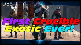 Destiny My First Exotic Drop From Crucible Rewards Reaction! RNGesus Strikes Again In Destiny!
