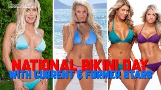 Celebrate National Bikini Day With Current & Former WWE Stars (Photos)