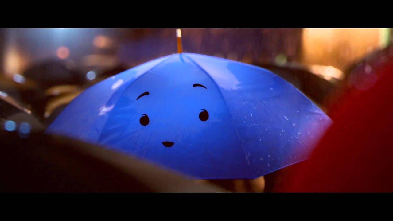 Blue Umbrella Pixar Wallpaper The Blue Umbrella Pixar 2013