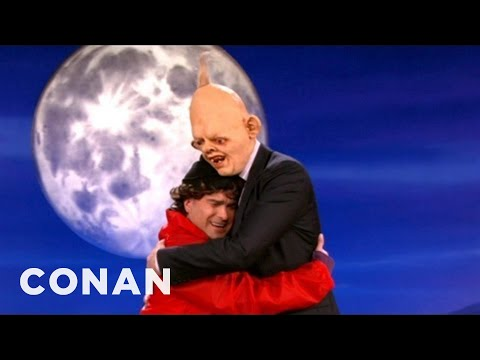 "Johnny Galecki & Conan Re-Enact ""The Goonies"" - CONAN on TBS"