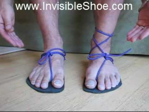 Make huaraches (Tarahumara running sandals) 3/3