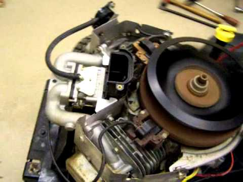 445777 25HP OHV Briggs & Stratton surging on right side only