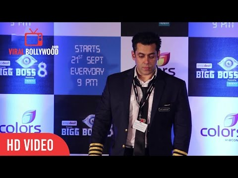 Salman Khan Repects Religion ( Total Silence at bigg Boss 8 Press Meet )
