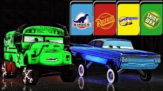 Cars 3 Colors Miss Fritter Battle - Lightning McQueen - Best Racing Ending - Cars 3: Driven to Win