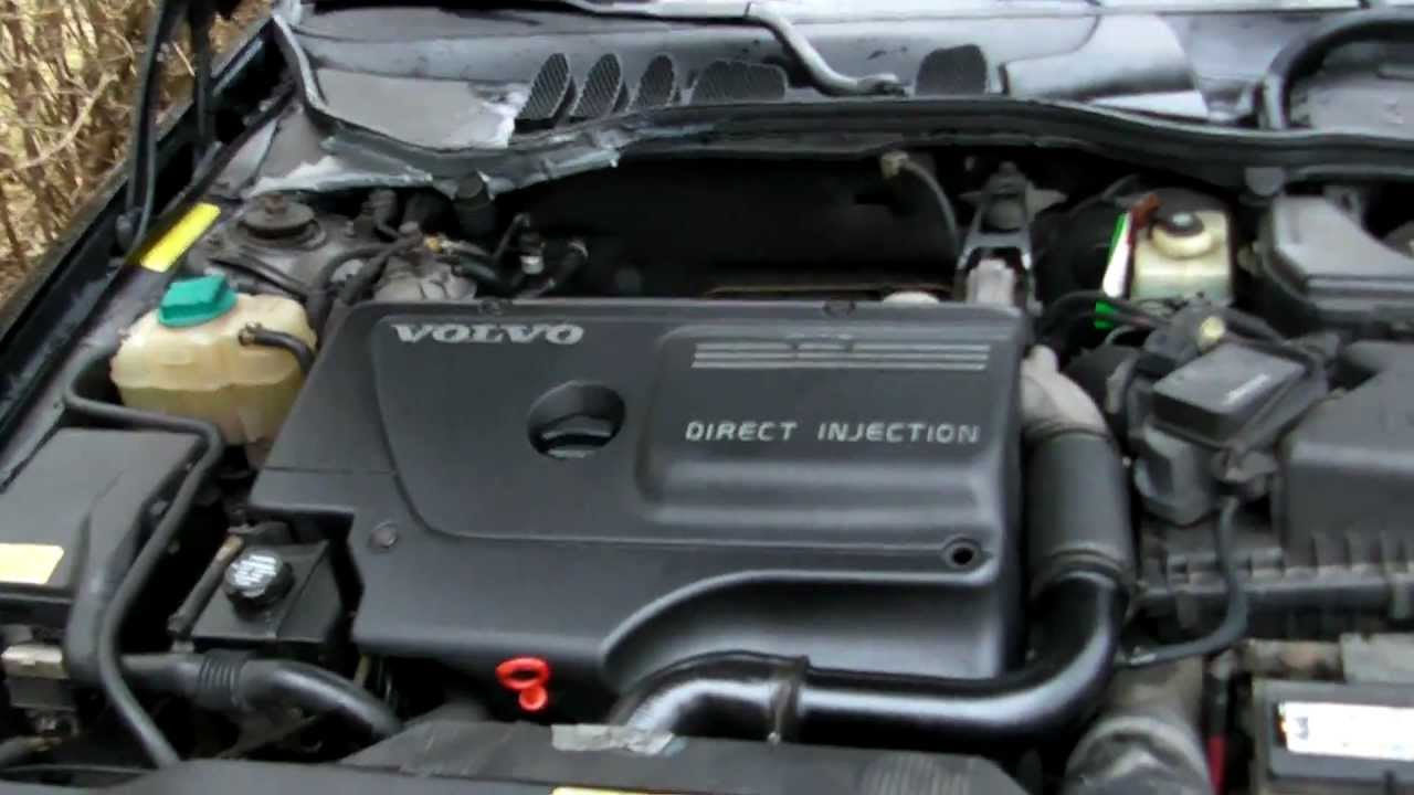 Volvo V70 2 5 Tdi R5 I5 Inline 5 Straight-five Engine Sound Idle Interior Full Hd