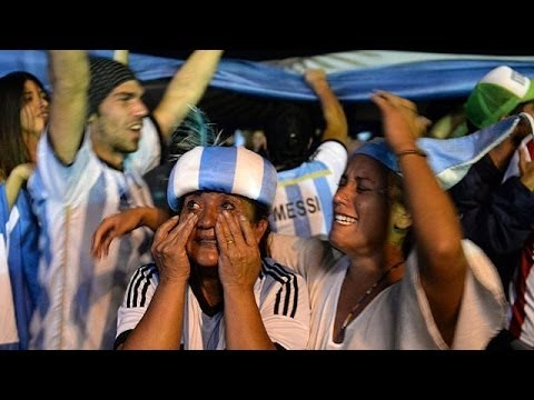 Argentina book their place in FIFA's World Cup final