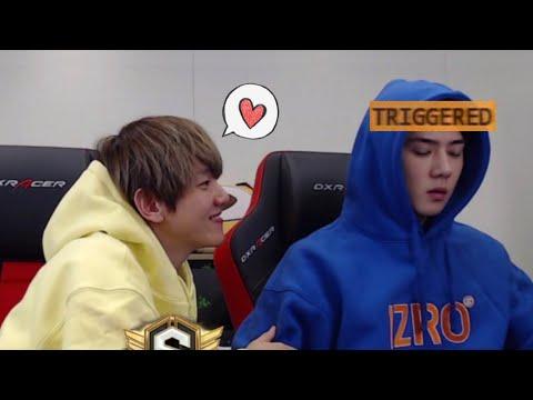 how to win Sehun's heart - Baekhyun style