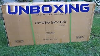 "Dirt Bike SKY 17""/14"" 125ccm (Nitro Motors Germany) 