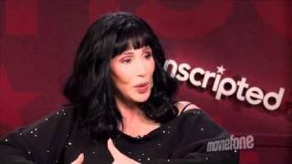 Cher and Christina Aguilera - Moviefone Burlesque Unscripted (Bonus #1)
