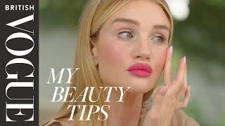 Rosie Huntington-Whiteley's Bold Lip Tutorial | British Vogue