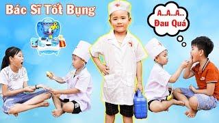 Bác Sĩ Tốt Bụng Giúp Đỡ Mọi Người - Bài Học Cho Bé ♥ Min Min TV Minh Khoa