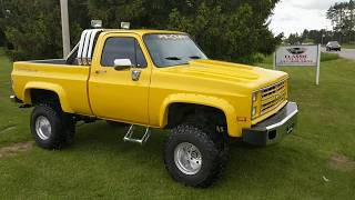 1982 Chevrolet C10 Truck For Sale