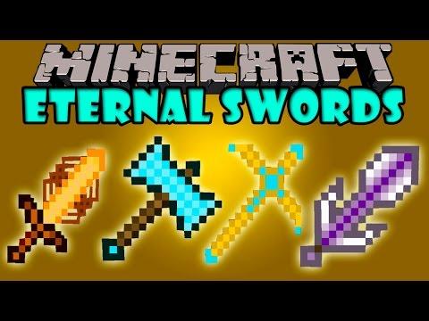 ETERNAL SWORDS - Nuevas espadas!. Herramientas y mas! - Minecraft mod 1.6.4 Review ESPAÑOL