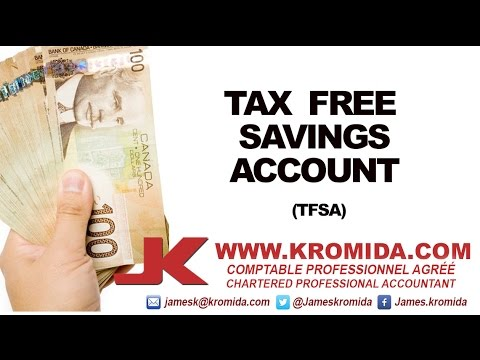 Tax free savings account options trading
