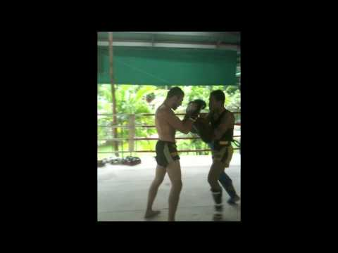 Pad Training with Kru Yod @ Tiger Muay Thai & MMA Training Camp, Phuket, Thailand Image 1