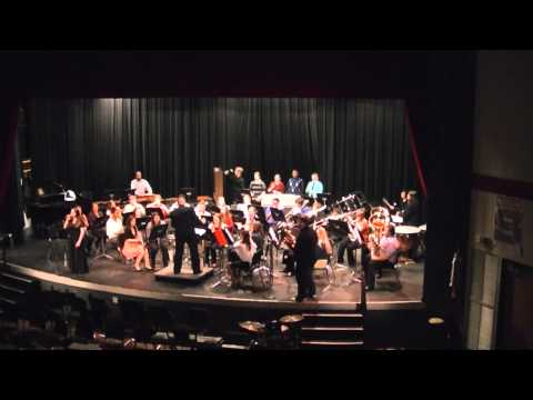 Stebbins High School Symphonic Band - Christmas (Baby Please Come Home) - 16 December 2013