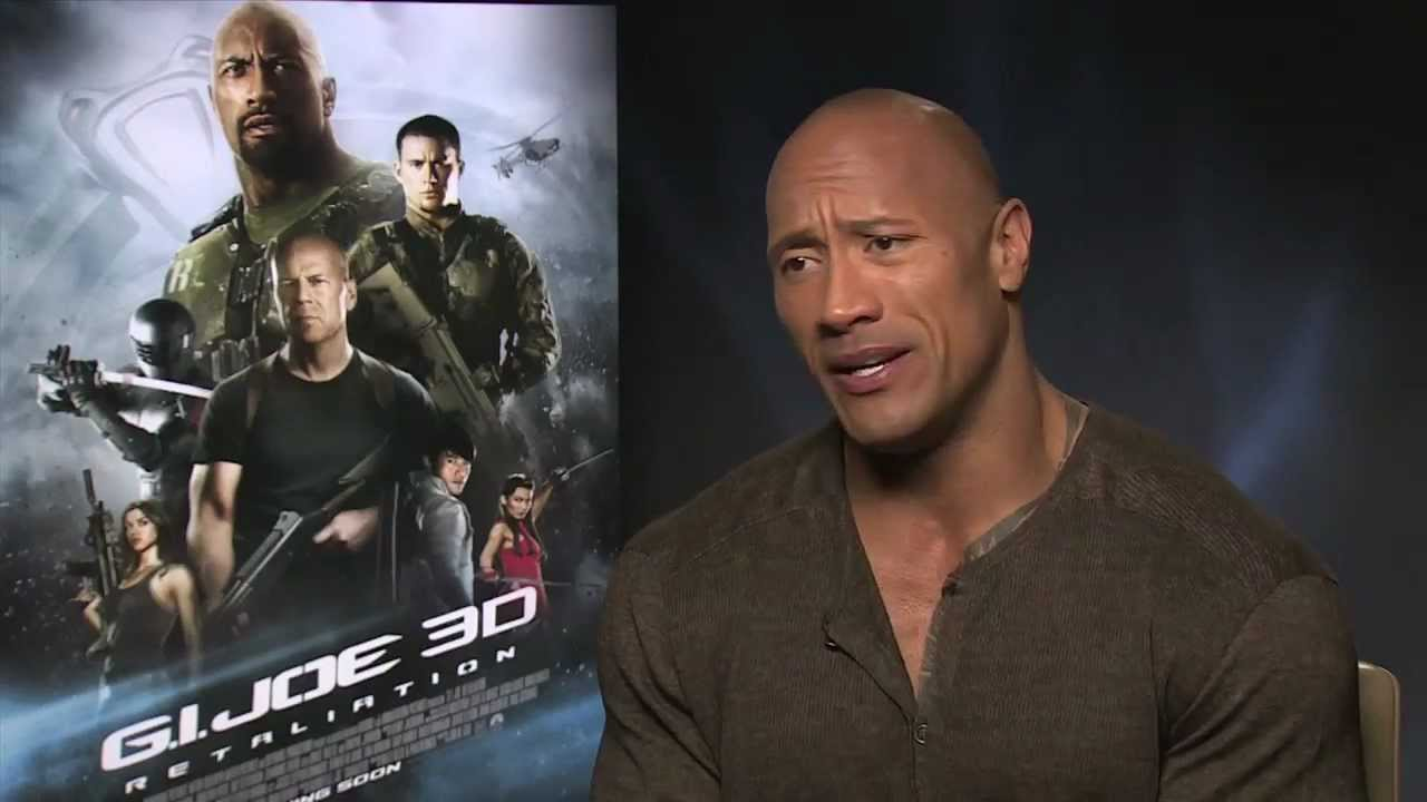 Dwayne the rock johnson talks expendables 3 and journey 3 youtube