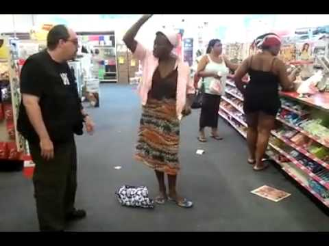 Woman in supermarket , so fucking funny