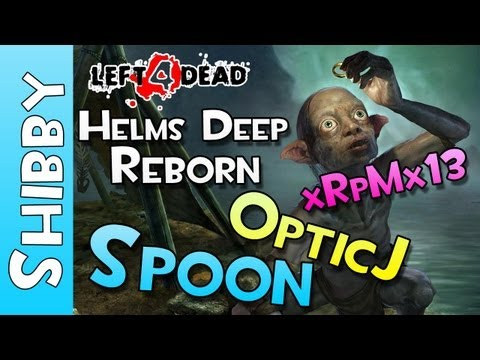 Zombies! - L4D2 - Helms Deep REBORN - Lord of the Rings Survival with Sp00n, Optic J, xRpMx13