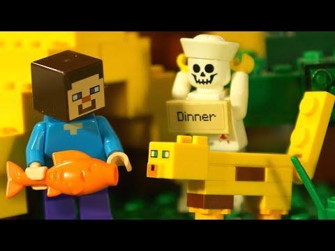 Лего НУБик Майнкрафт 2018 Мультики Все Серии Подряд Мультфильмы для Детей СБОРНИК Игрушки