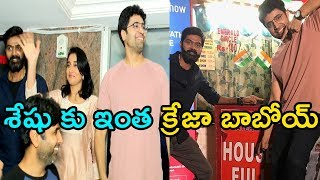 Evaru Movie Team Theater Coverage In Hyderabad | Evaru Trailer | Adavi Sesh , Regina