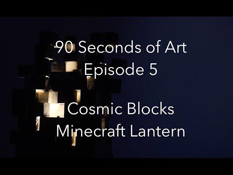 Cosmic Blocks Minecraft Lantern